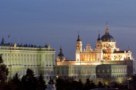 Palacio Real Madrid royal palace spain