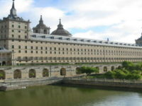 San Lorenzo de El Escorial near Madrid Spain