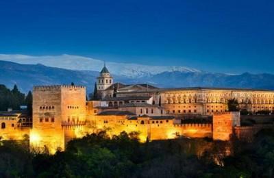 Alhambra palace at Granada