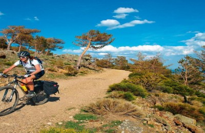 MTB tour crossing Guadarrama mountain range