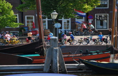 Lago Ijssel bike & boat tour for families