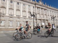 Madrid city sightseeing bike tour
