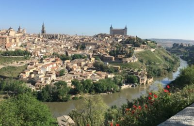 Toledo and river Tagus s