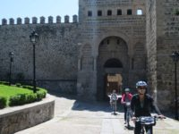 Toledo bike tour sightseeing from Madrid