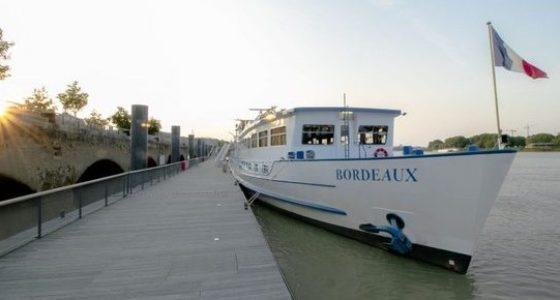 bordeaux francia bici barco ruta semana