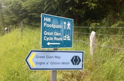 great glen bike tour scotland