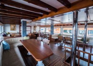 Love Boat Salon diner vacation bike