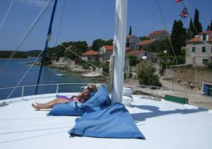 Kaeptan Jure Sun Deck holiday cruise croatia