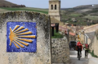 camino santiago bike route