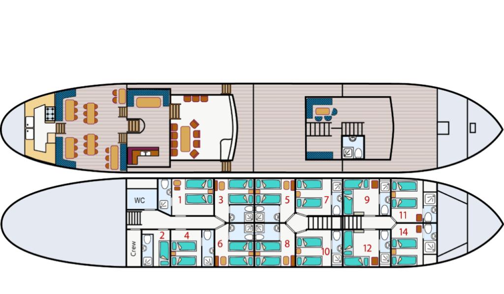 floor plan Leafde fan Fryslân