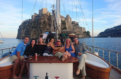 italy bike boat cruise amalfi naples vacation