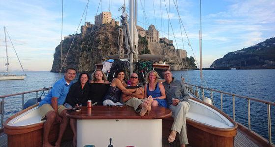 italy bike boat cruise amalfi naples vacation