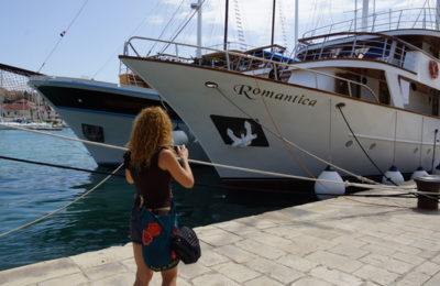trogir croacia barco bici vacacion romantic