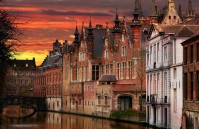 Bruges to Brussels bike and boat tour cruise
