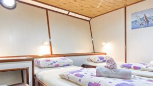 Harmonia twin cabin bike boat ship tour croatia split dubrovnik