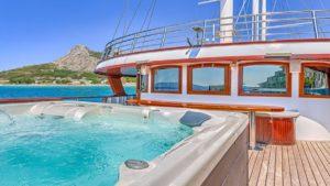 Princeza Diana croatia bike boat deck