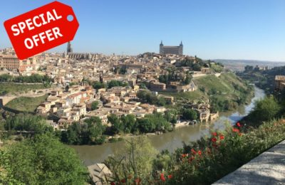 Day trip Toledo bike tour and river winter offer