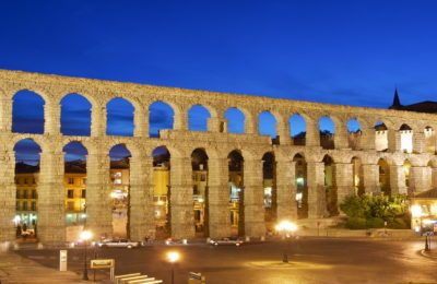Segovia Aqueduct spain bravo bike tours