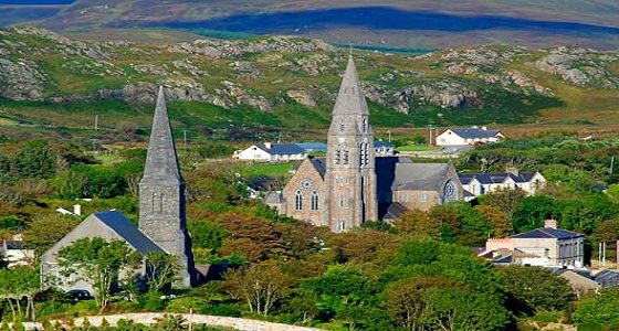 Ireland family bike tour clifden